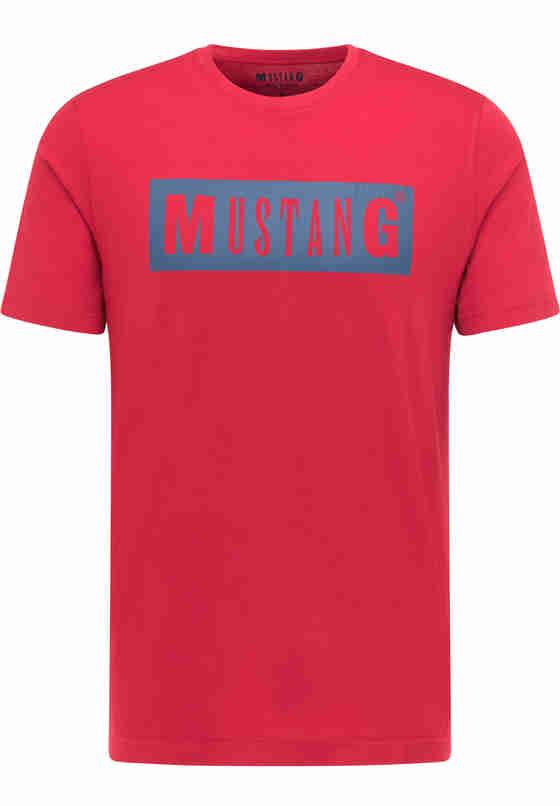 T-Shirt Logoshirt, Rot, bueste