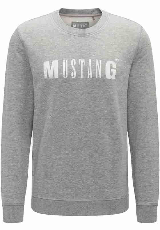 Sweatshirt Logo-Sweatshirt, Grau, bueste