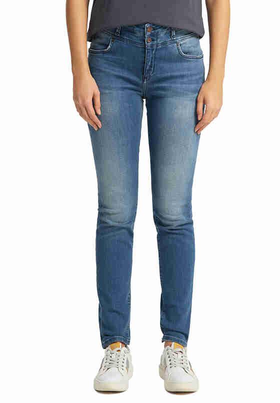 Hose Mia Jeggings, Blau 684, model