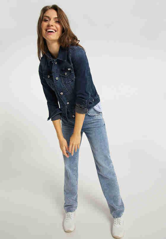 Hose Mia Straight, Blau 215, model