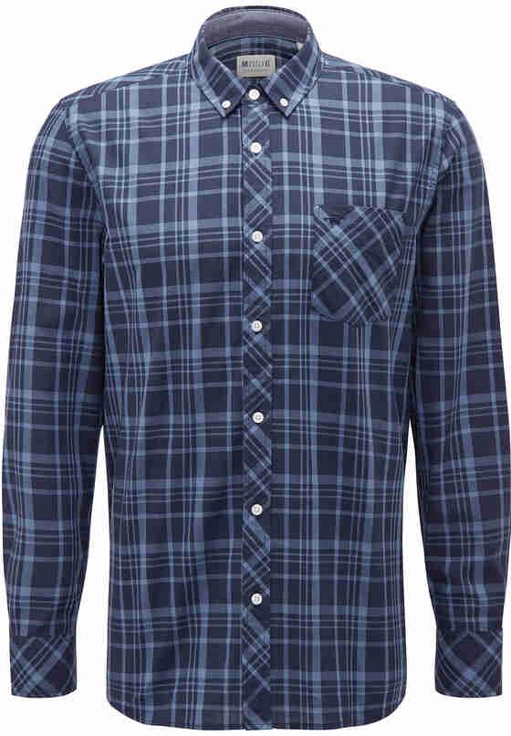 Hemd Freizeit-Hemd, Blau, bueste