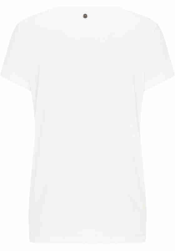 T-Shirt Label-Shirt, Weiß, bueste