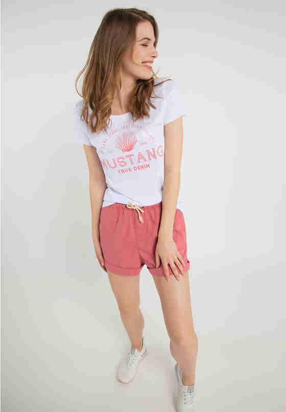 Hose Beach Shorts, Orange, model