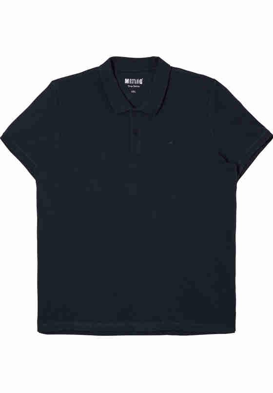 T-Shirt Polo, Blau, bueste
