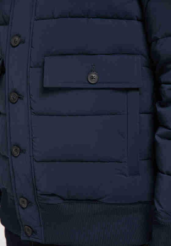 Jacke Steppjacke, Blau, bueste