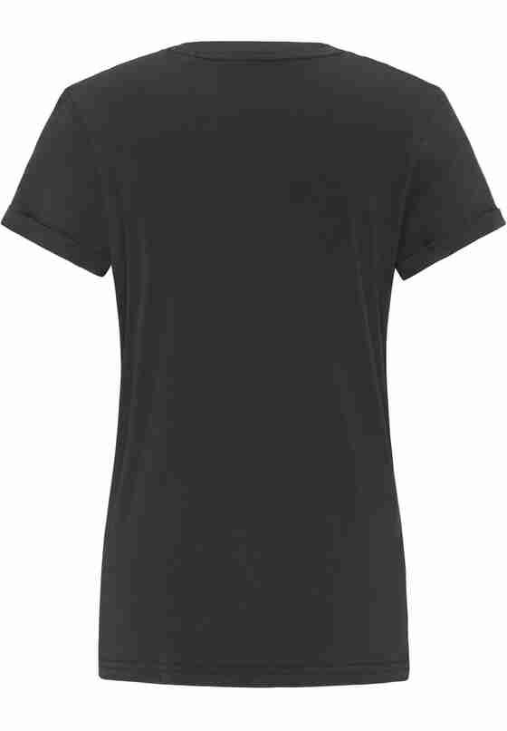 T-Shirt Alina C Print, Schwarz, bueste
