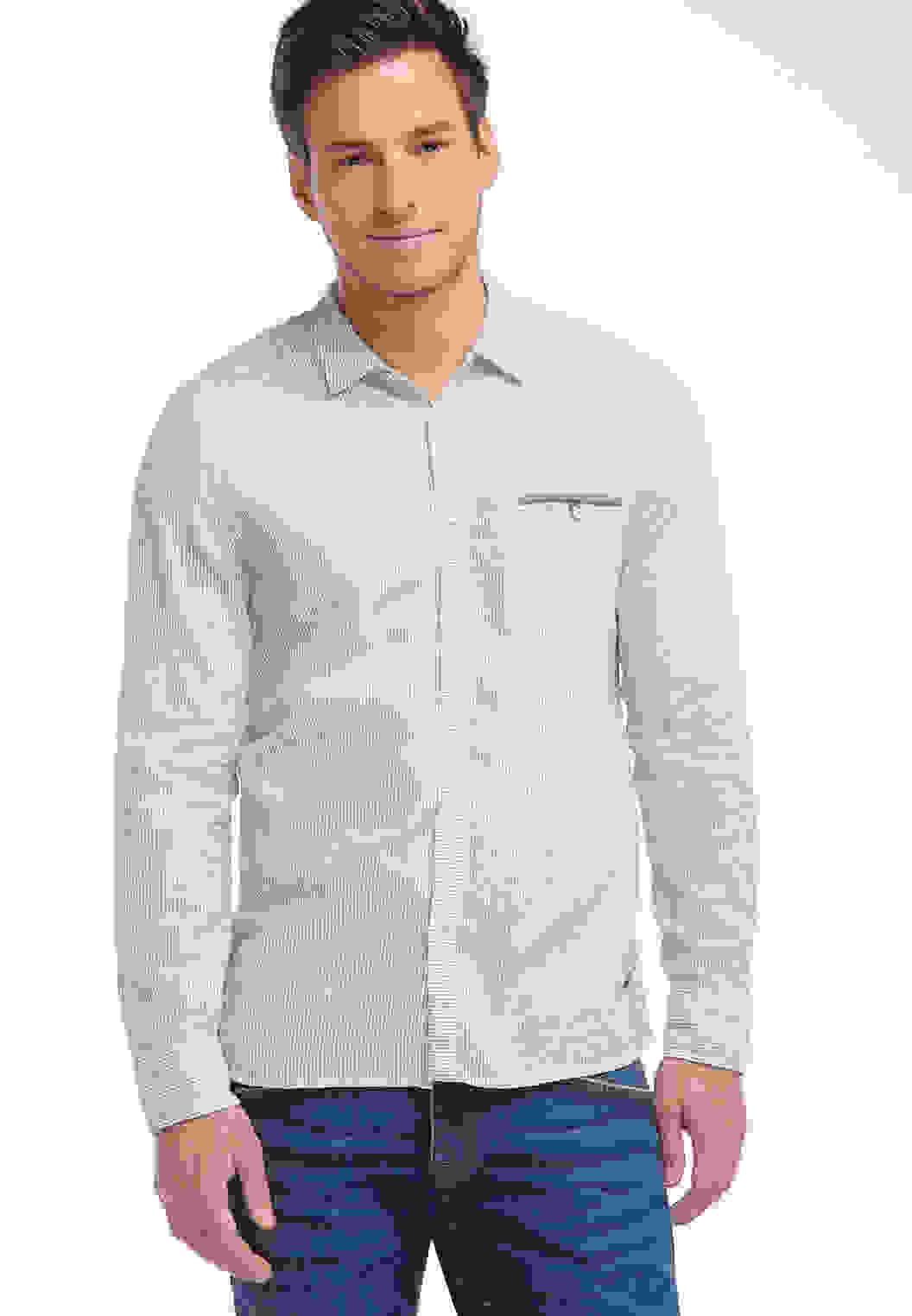 Hemd Streifenhemd