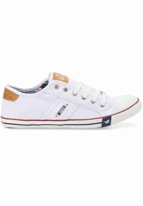 Schuh Sneaker, Weiß, bueste