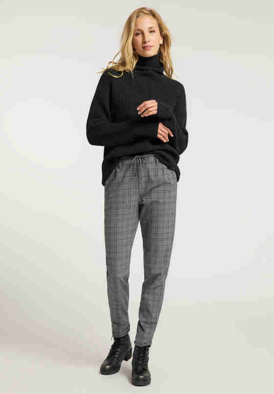 Hose Preppy Jogger, Grau, model