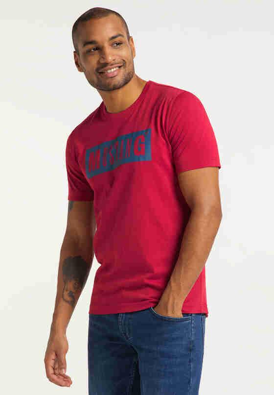 T-Shirt Logoshirt, Rot, model
