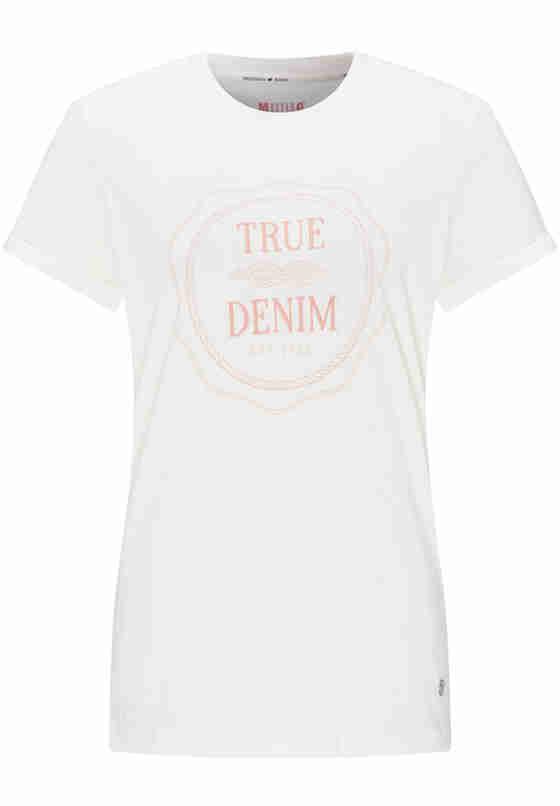 T-Shirt Alina C Print, Weiß, bueste