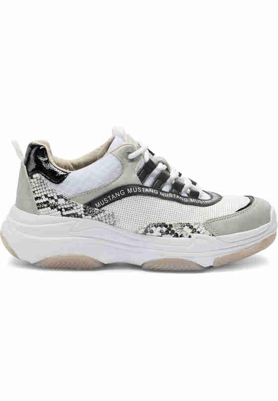 Schuh Schnürhalbschuh, Weiß, bueste