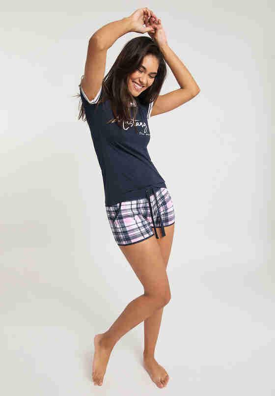 Unterwäsche T-Shirt, Navy, model