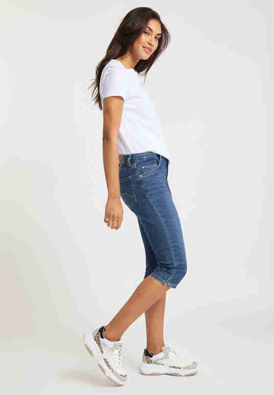 Hose Rebecca Capri, Blau 312, model