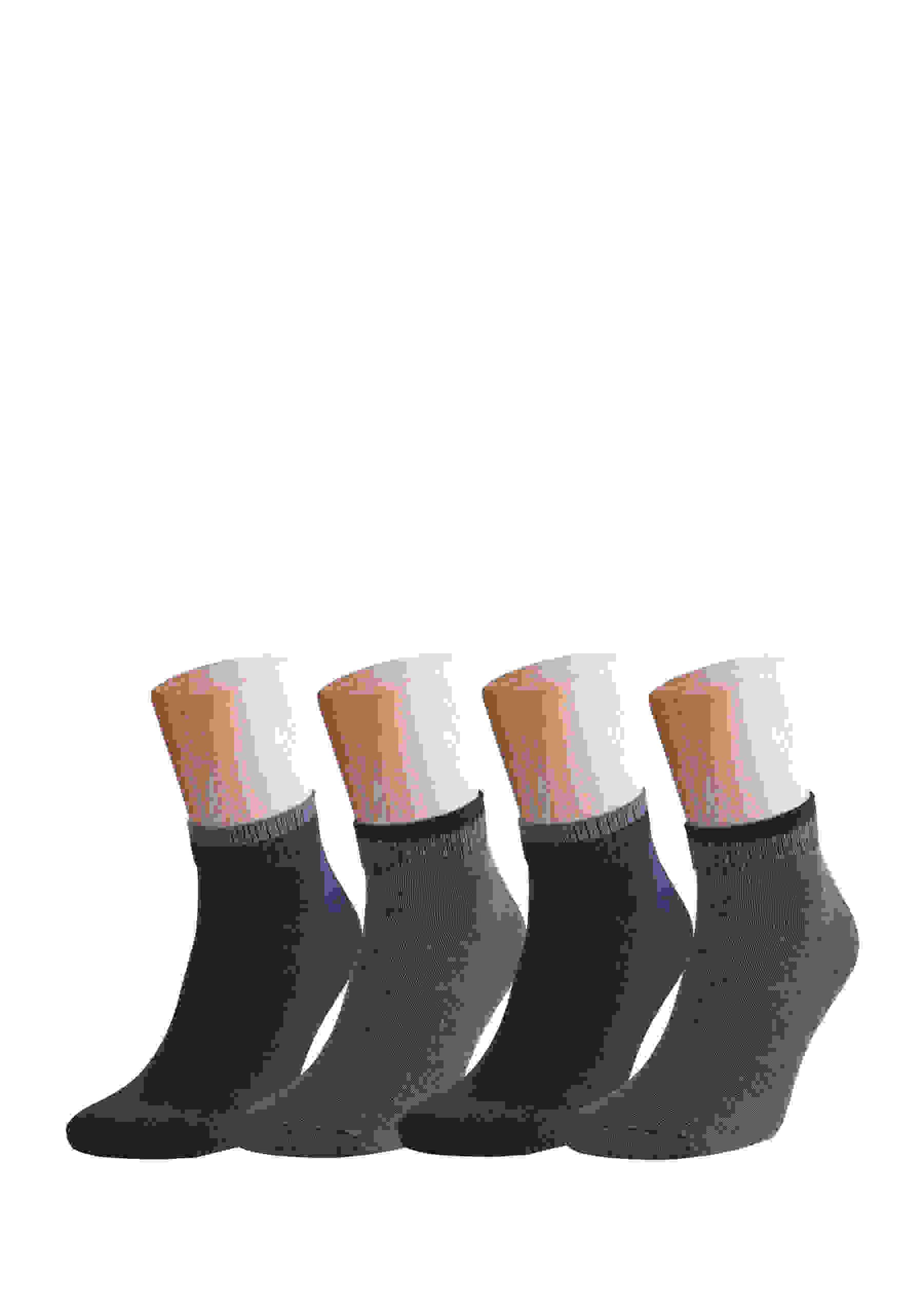 Accessoire 4x elastische Socken