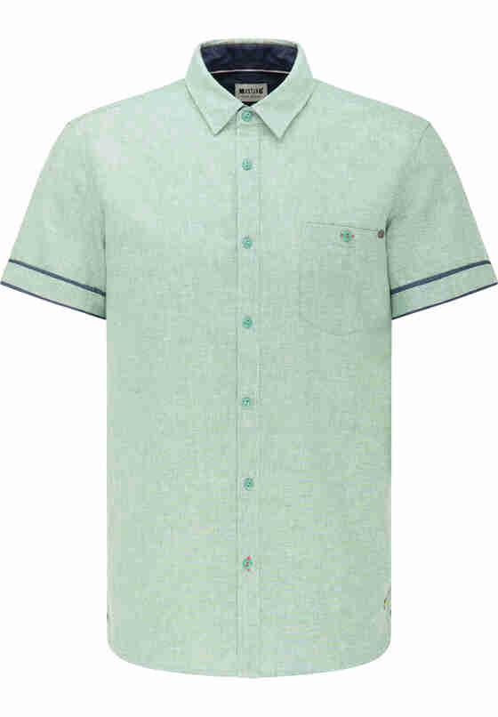 Hemd Chris Linen Shirt, Grün, bueste