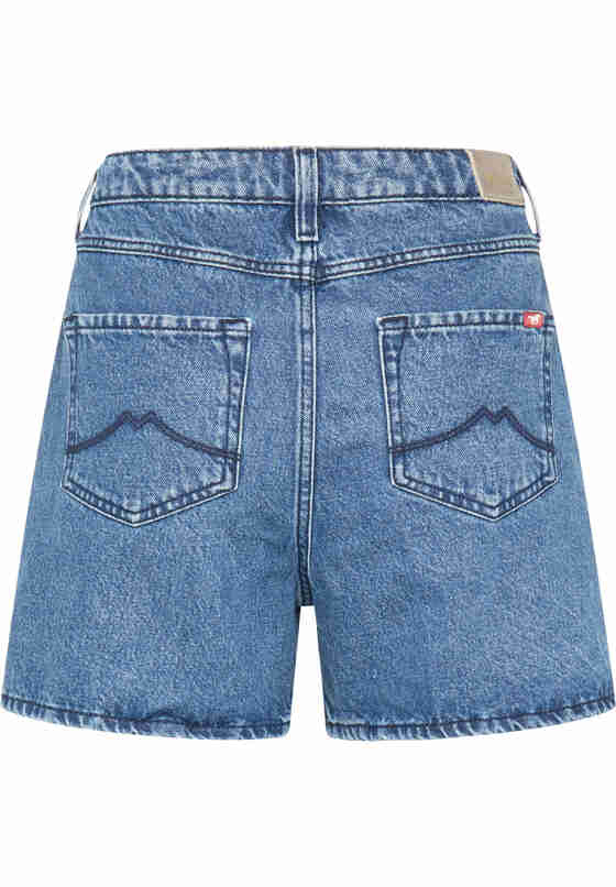 Hose Relaxed Moms Shorts, Blau 780, bueste