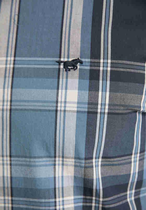 Hemd Langarmhemd, Blau, bueste