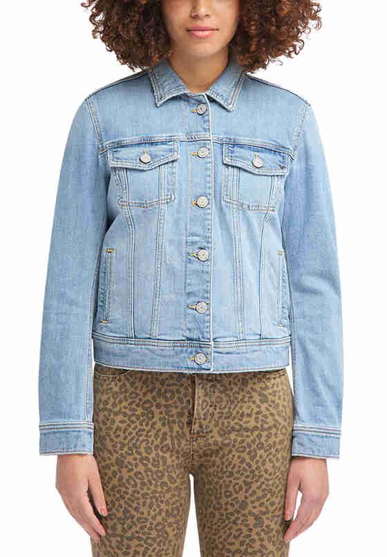 Jacke Denim Jacket, Blau 587, model