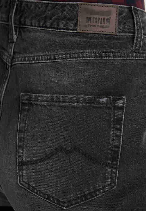 Hose Barrel Pants, Schwarz 980, model