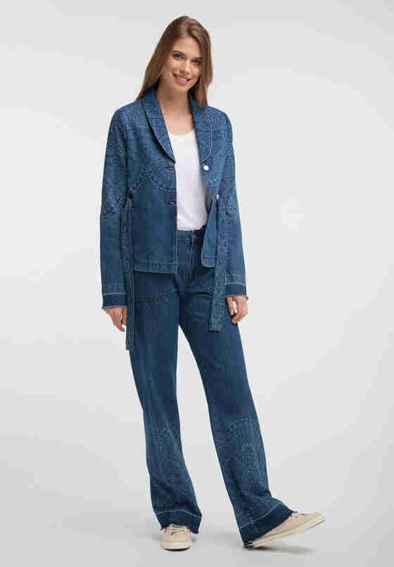 Jacke Jeansblazer, Blau 640, model