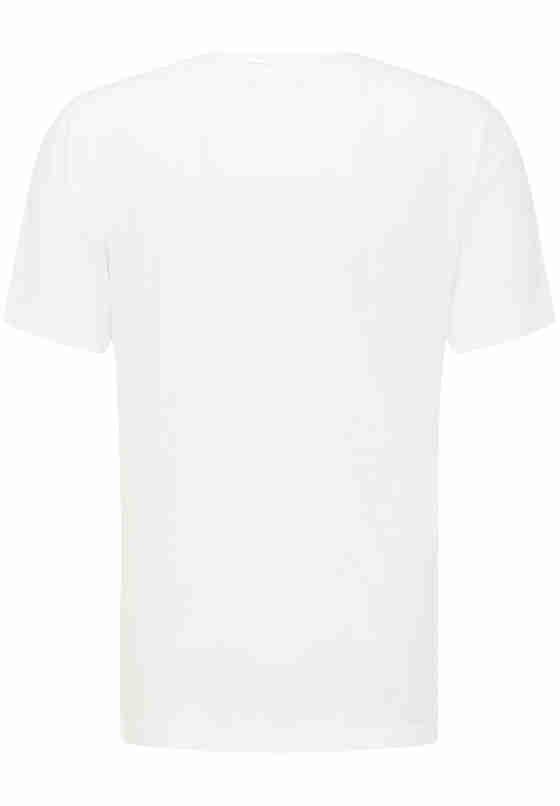 T-Shirt Print-Shirt, Weiß, bueste