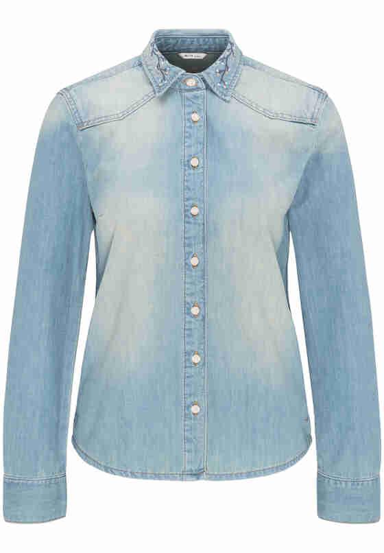 Bluse Denim Shirt, Blau 234, bueste