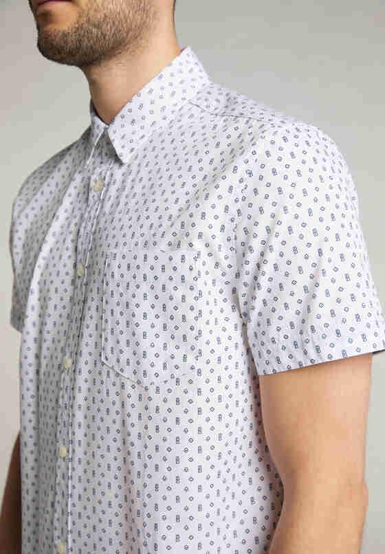 Hemd Baumwollhemd, Weiß, model