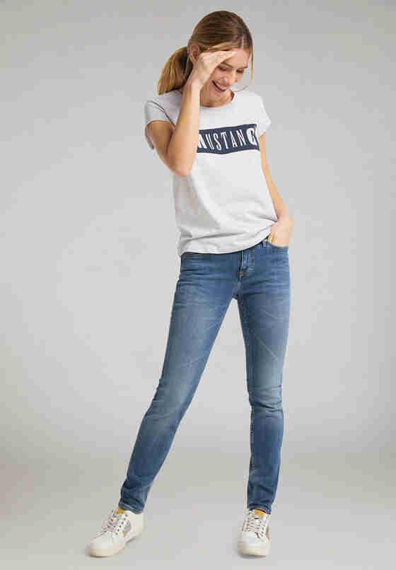 T-Shirt Alina C Logo Tee, Grau, model