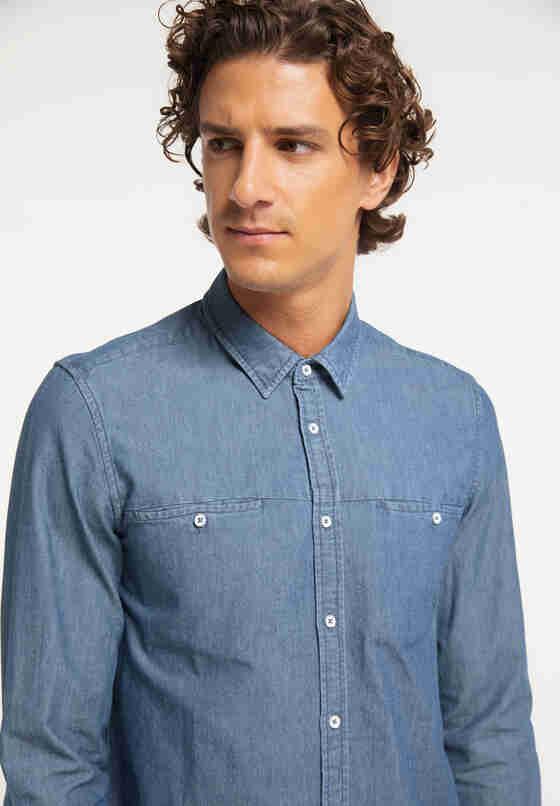 Hemd Jeanshemd, Blau 700, model