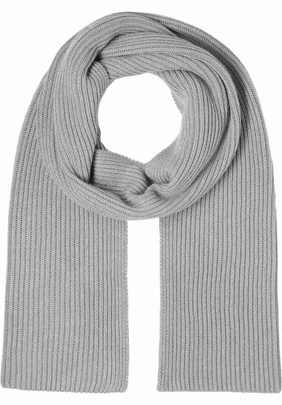 Accessoire Schal, Grau, bueste