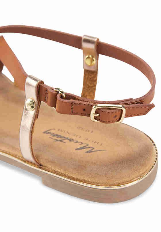 Schuh Sandale, Braun, bueste