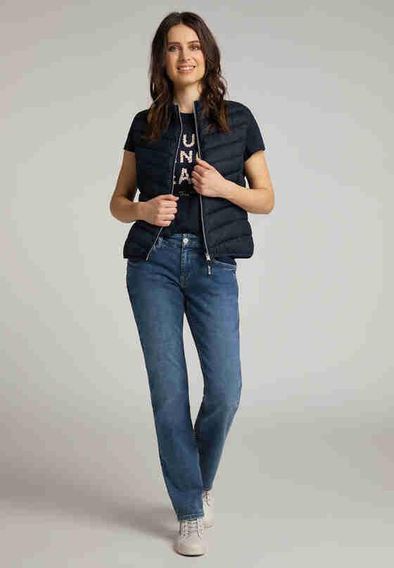 Jacke Steppweste, Blau, model