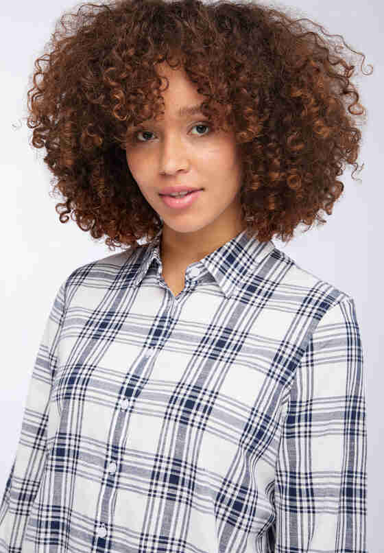 Bluse Easy Fit Blouse, Weiß, model