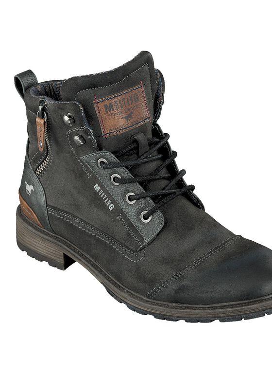 Schuh BOOT, Graphit, bueste image number 0.0