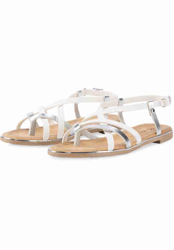 Schuh Sandale, Weiß, bueste