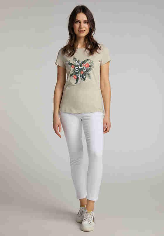 T-Shirt T-Shirt, Braun, model