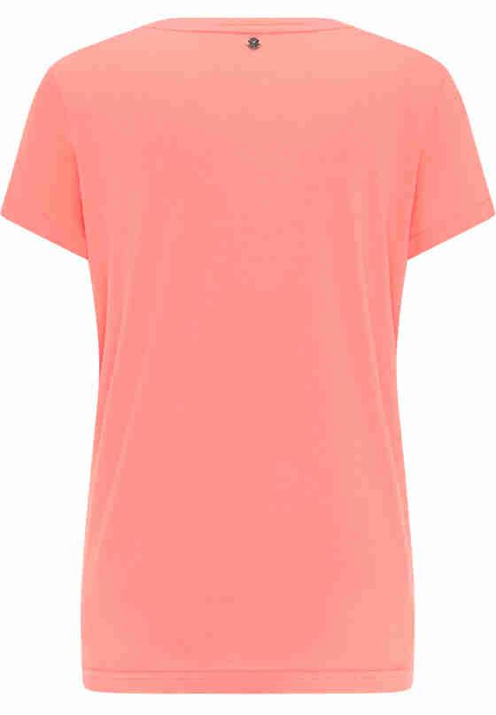 T-Shirt Label-Shirt, Rot, bueste