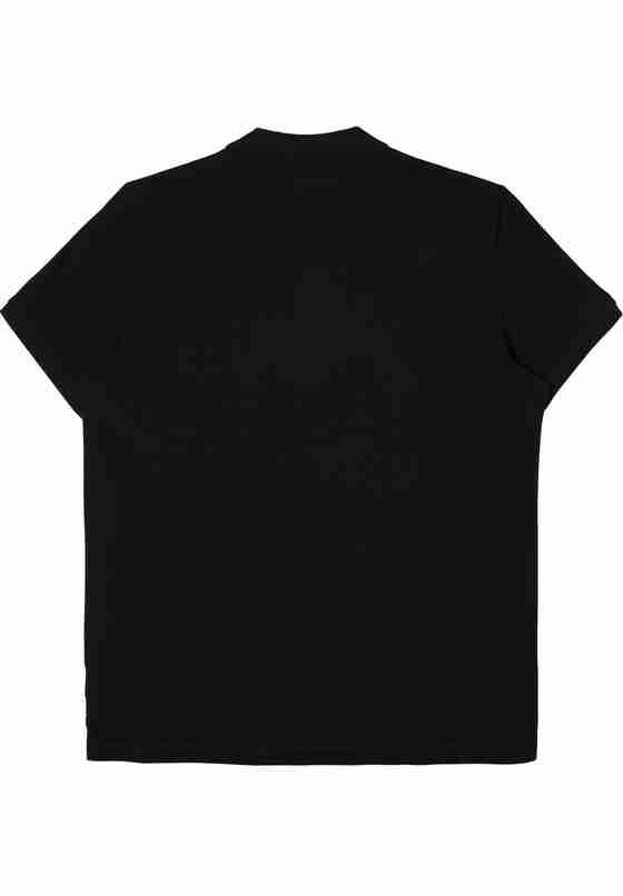T-Shirt Polo, Schwarz, bueste