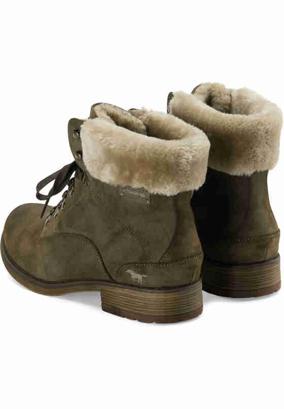 Schuh Schnür-Boots, Grün, bueste
