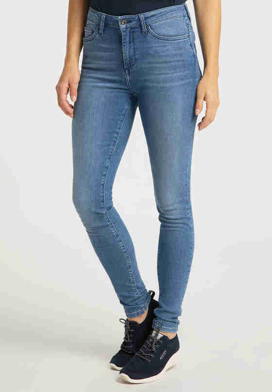 Hose Zoe Super Skinny, Blau 412, model