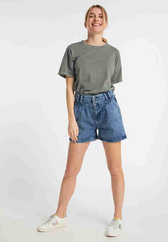 Hose Relaxed Moms Shorts, Blau 780, model