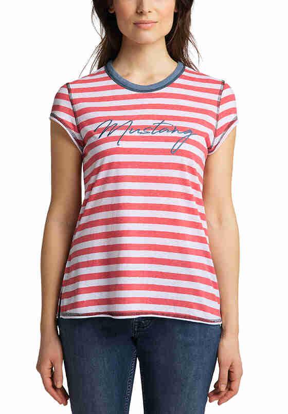 T-Shirt T-Shirt, Rot, model