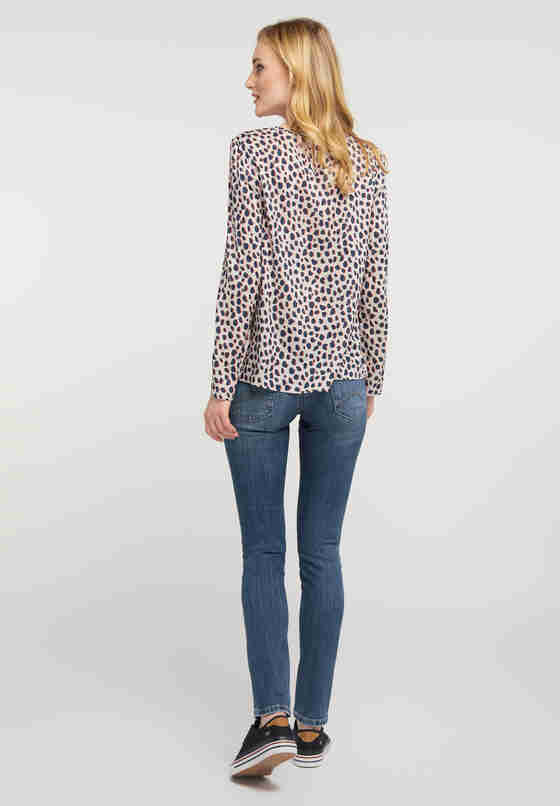Bluse Print-Bluse, Bunt, model