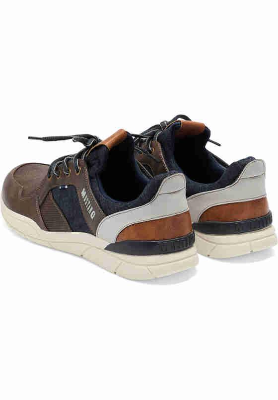 Schuh Schnürhalbschuh, Braun, bueste