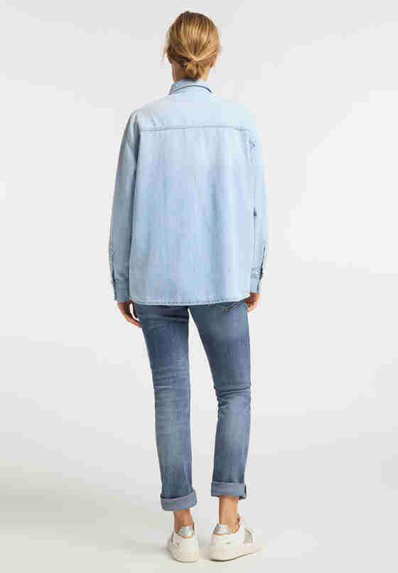 Hemd Jeanshemd, Blau 111, model