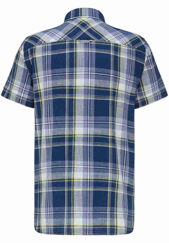 Hemd Kurzarmhemd, Blau, bueste