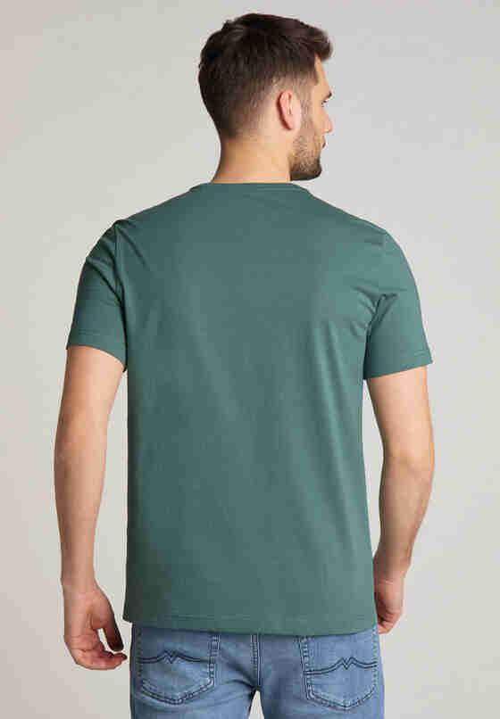 T-Shirt Alex C Print, Grün, model