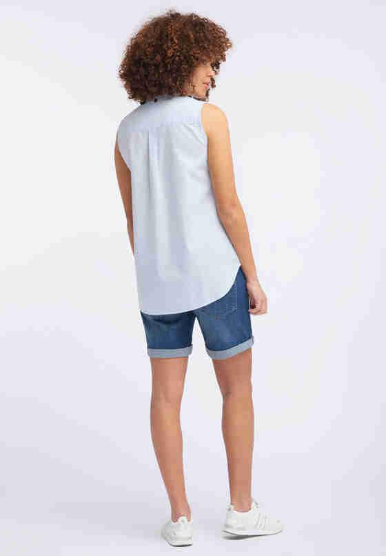 Bluse Basic Summer Top, Blau, model