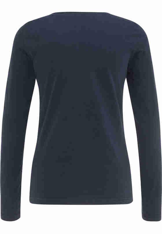 T-Shirt Langarmshirt, Blau, bueste